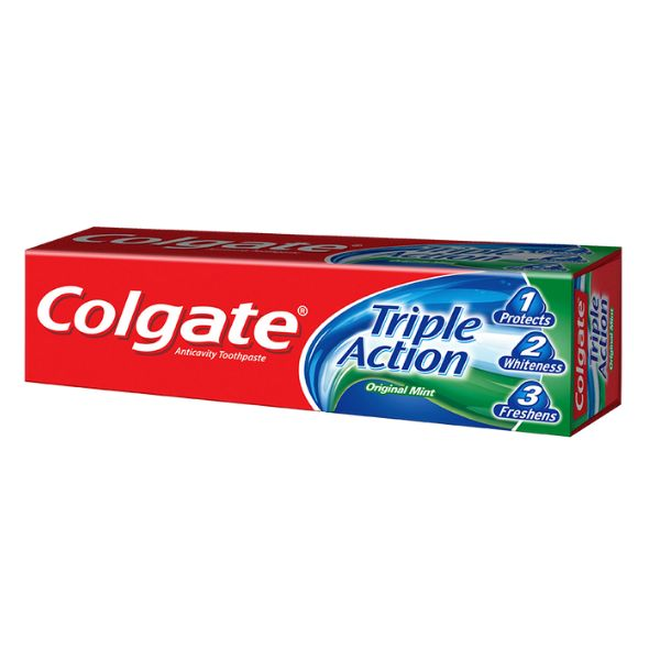 COLGATE DENTIFRICE PROTECTION MAXIMUM/TROPLE ACTION OU HERBAL
