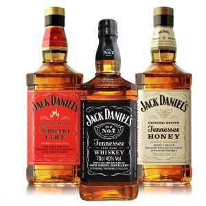 JACK DANIEL'S  ORIGINAL 40°/ HONEY OU FIRE 35°