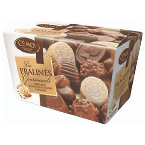 Les pralinés gourmands assort.3 chocolats CEMOI