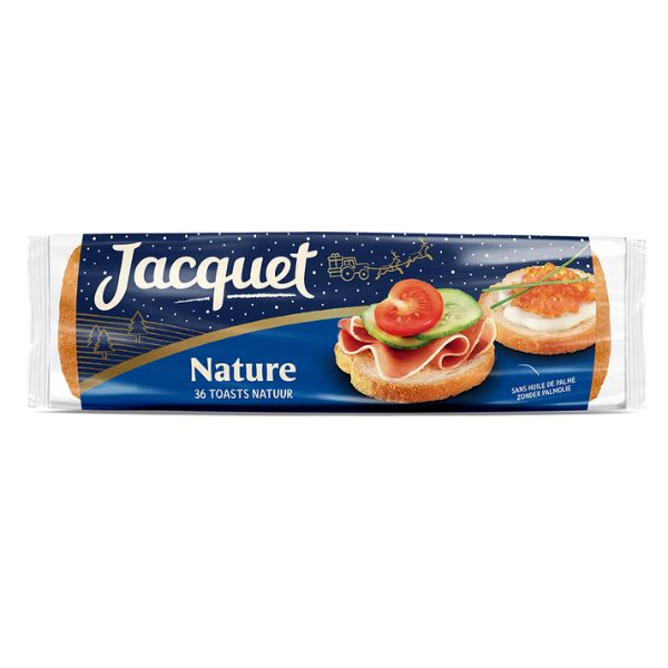 TOAST ROND NATURE SPECIAL FETE JACQUET