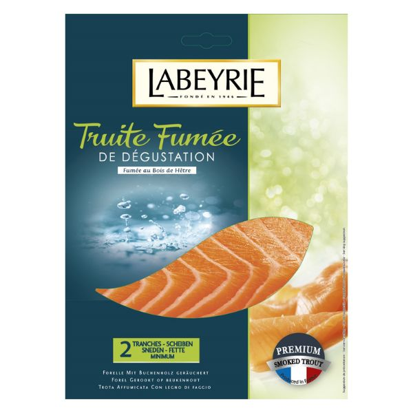 TRUITE FUMEE 75G LABEYRIE