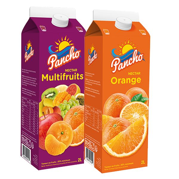 PANCHO MULTIVITAMINES/ORANGE/POMME/POIRE 2L